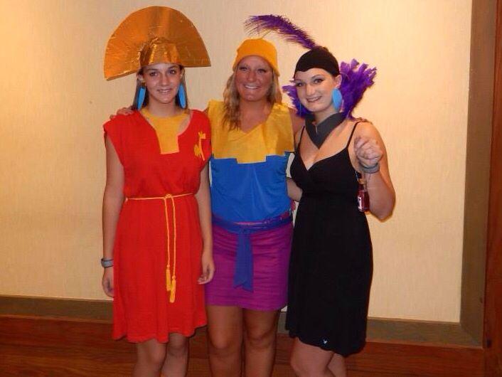 emperors new groove costumes kuzco kronk yzma animals