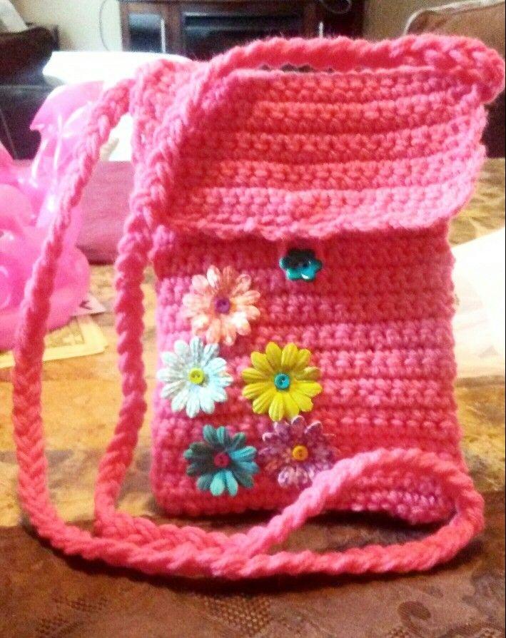 Mejores 61 imágenes de tejidos en crochet en Pinterest | Bolsos de ...