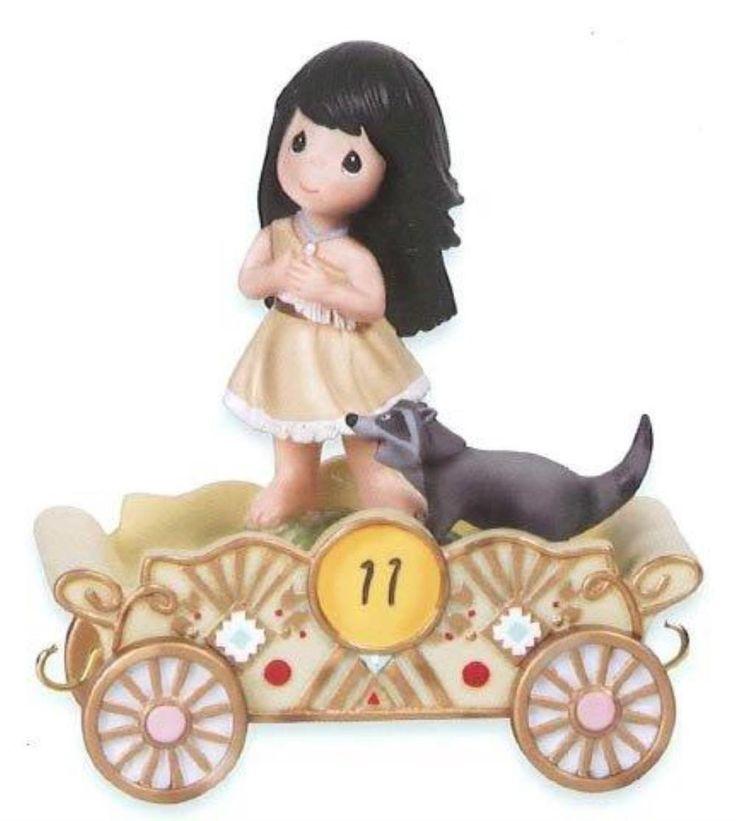 Precious Moments Figurine Disney Birthday Parade Pocahontas No.11