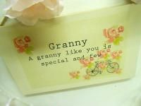 GRANNY : CYCLE IN THE PARK ...Ideal for Granny on Mother's day! March 30th 2014 (UK)