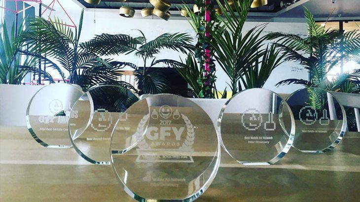 Find out what awards BitterStrawberry has won the past 7 years! We can't wait to add a new one to our collection!