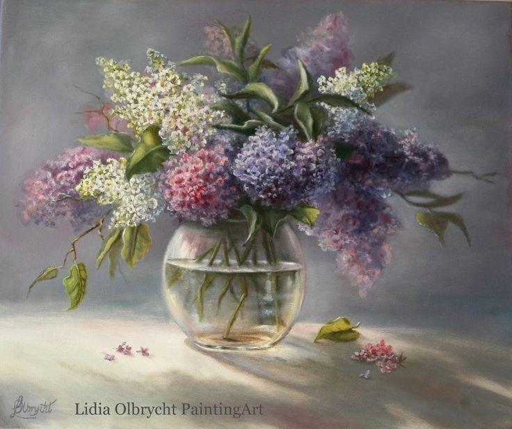 Lilacs by  Lidia Olbrycht/ Poland