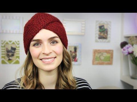 ▶ |DIY| Strick-Turban - Strickmütze - Beanie - Winter - YouTube