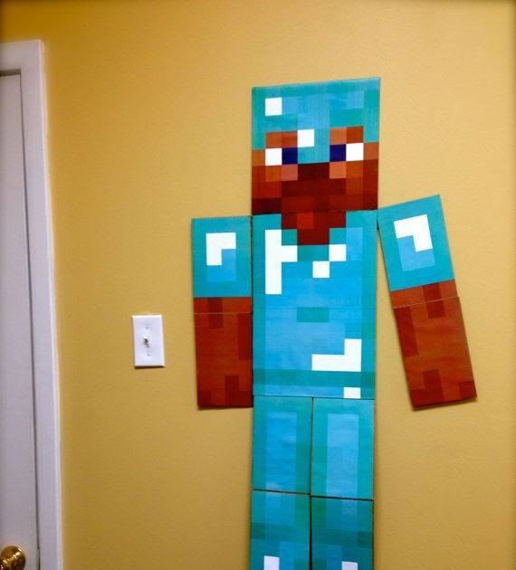 Minecraft Kids Room Decor Minecraft Kids Room Decor Diy Minecraft Wall Decor Home Design And Interior Minecra In 2020 Minecraft Wall Minecraft Room Minecraft Bedroom