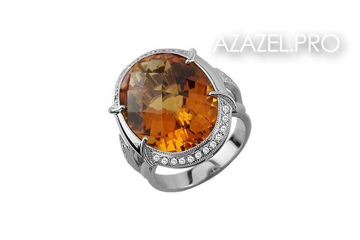 Друзья, всем доброго утра и прекрасного настроения! Представляю прекрасный Перстень с Цитрином и Алмазами №80324VN!  ЦЕНА здесь: http://azazel.pro/citrine-gemstone/rings-made-of-gemstone-citrine.html#80324vn  #ring #перстень #цитрин #citrine #украшения #jewellery