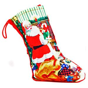 Beautiful colored Santa stocking for your loved ones. http://www.tajonline.com/christmas-gifts/product/x1245/colorful-santa-stocking/?aff=pint2013/