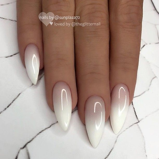 Theglitternail Get Inspired On Instagram Repost Werbung Unbezahlt Advertising Unpaid Milky White Ombre Nail Designs Ombre Nails Manicure