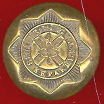 Royal Irish Dragoons Button