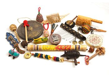 Multi-Cultural Music Set -23pc. This Set includes 23 unusual hand crafted instruments from a diverse range of cultures from around the world.
