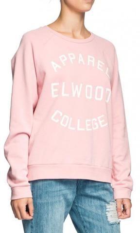 Elwood League Crew Jumper Blush