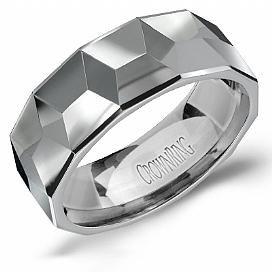 Ultra Masculine Tungsten Carbide Band TU-0028