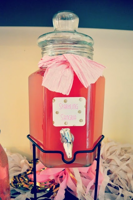 Shannanigans: Bottle Pop Parties: Kate Spade Inspired Birthday Bash