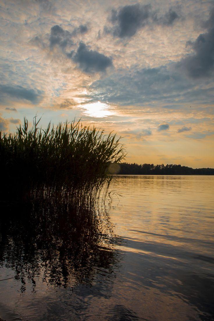 sunset over the lake by szemrajfotografi szemrajfotografi on 500px
