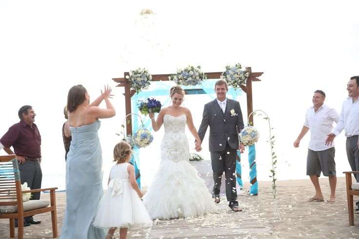 Beach ceremony in Tuban, this was a great day and such a gorgeous couple!  http://www.balibrides.com.au/bali-wedding-packages
