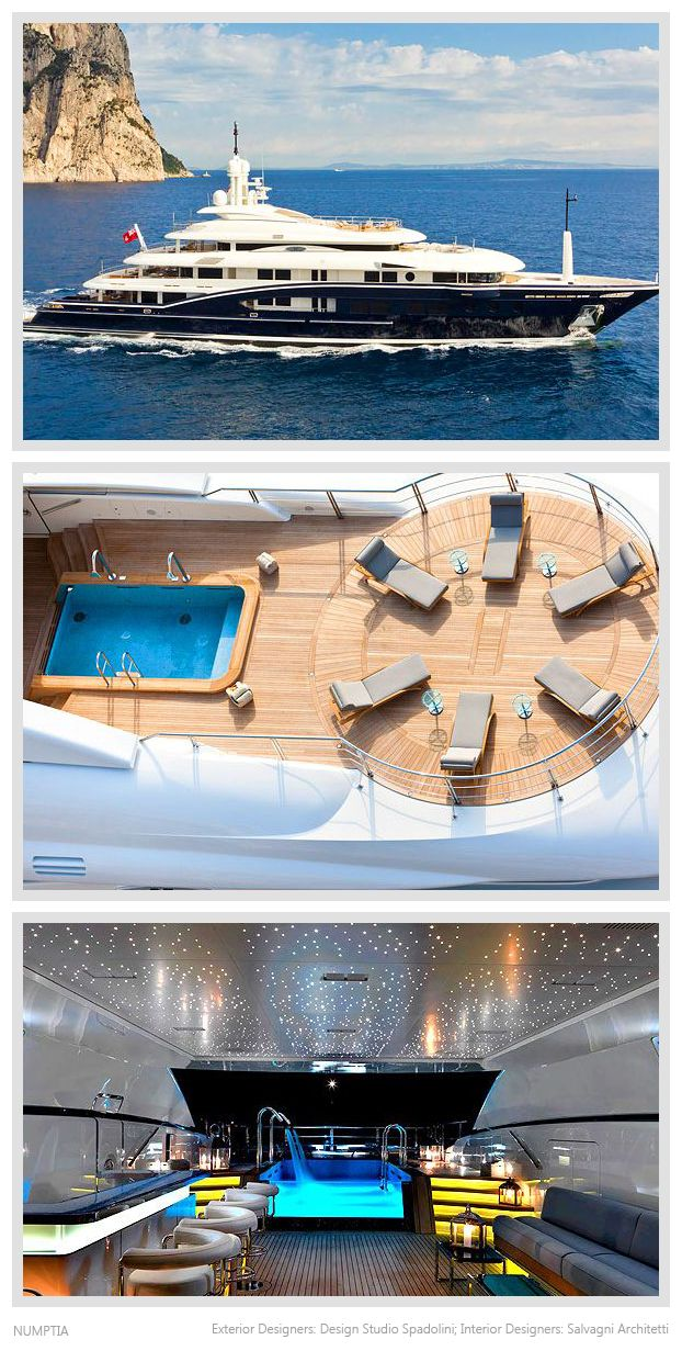 Best Boats Images On Pinterest Boats Luxury Boats And - Giga yacht takes luxury oil tanker sized extreme