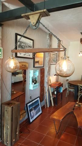 a collection of beautiful rustic industrial lighting pieces for homes or businesses