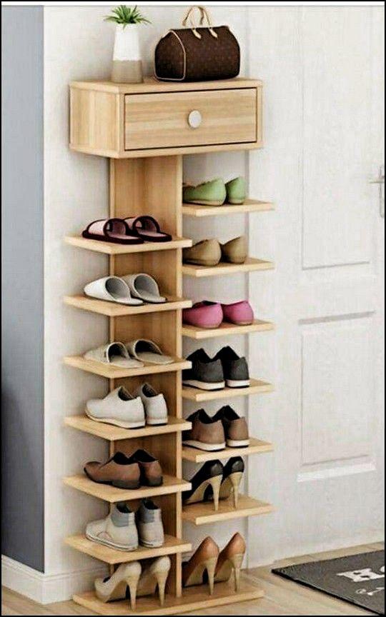 38 best simple diy shoe racks you ll want to make shoe on wood shoe rack diy simple id=68424