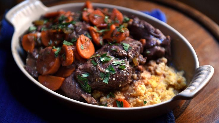 """There are many comforting stews in this world, but my favorite, the one I go back to over and over again, is the Provençal wine and meat stew called daube. Daube (pronounced """"dobe""""), is earthier and more robust than its refined northern cousin, boeuf bourguignon. It is also more vegetal, ..."""