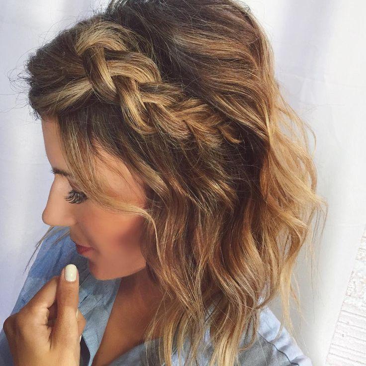 "Christine Andrew on Instagram: ""Hair vibes ❤️ #dutchbraid"""