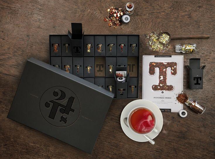 Paper Pleasure Adventkalender Tee, hamburg von innen
