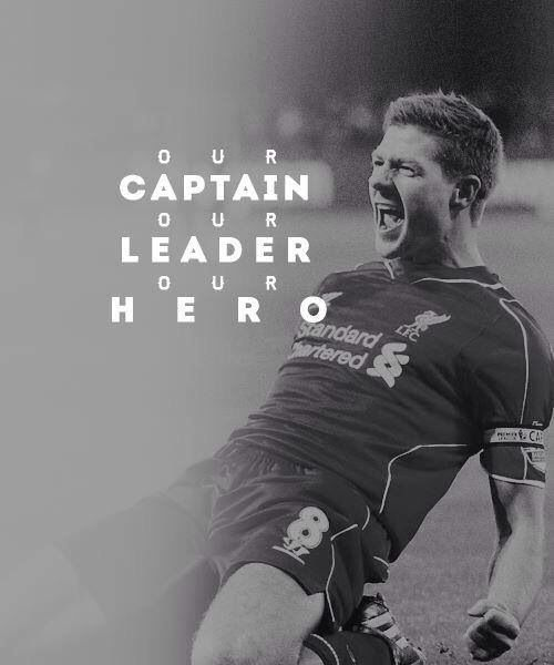 The one and only, Steven Gerrard. Most amazing captain ever. Liverpool legend