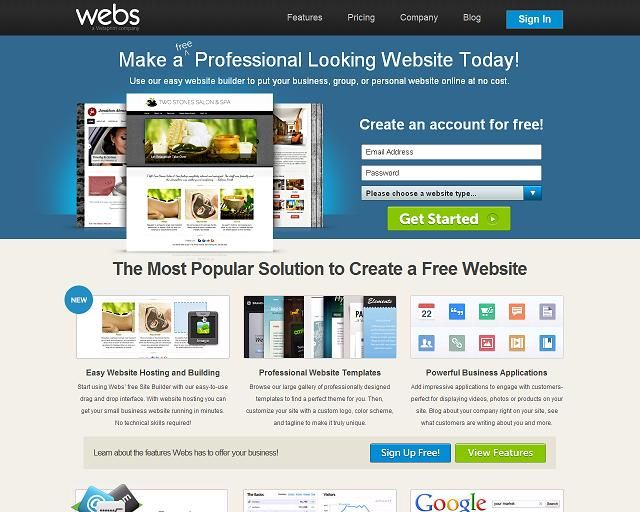 Webs.com is a D.I.Y. website builder that was ranked by customers among the Top Ten web page builder applications for the year 2014.  This app was used to build web pages for the Leadership Training for Christ program.