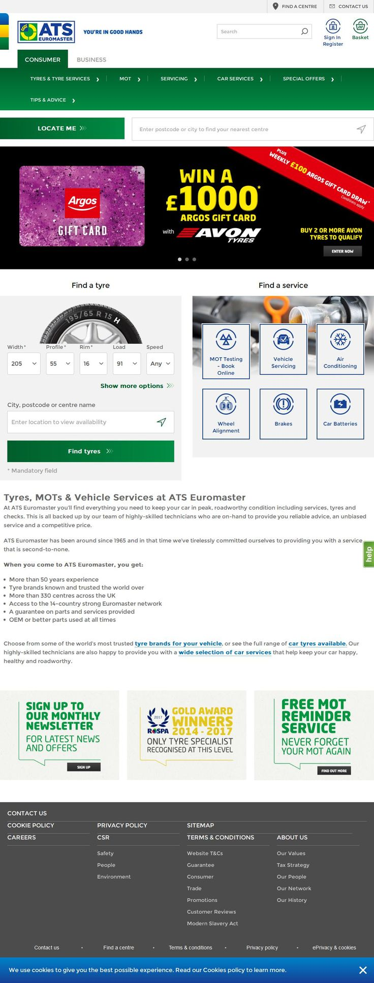 ATS Euromaster Ltd Tyre Services Market Street Whitland
