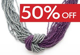 50% OFF SALE on all jewellery in these stores: Gateway Theatre of Shopping VIP Brooklyn Mall Sandton City Shopping Centre Eastgate Shopping Centre Fourways Mall The Glen Shopping Centre Clearwater Mall The Pavilion Shopping Centre Canal Walk Shopping Centre *Limited time *while stock lasts *T&C's apply