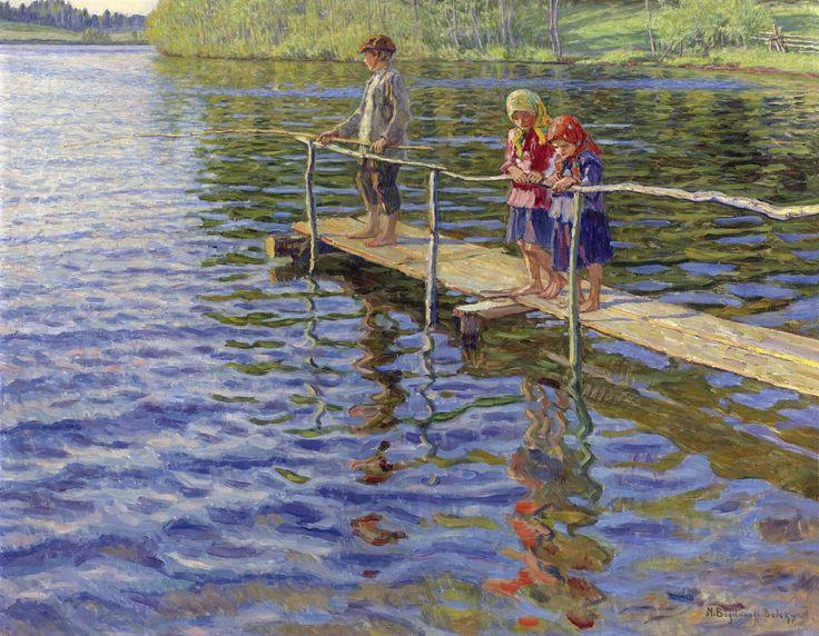 Рыбалка на реке Богданов - Бельский Николай Петрович
