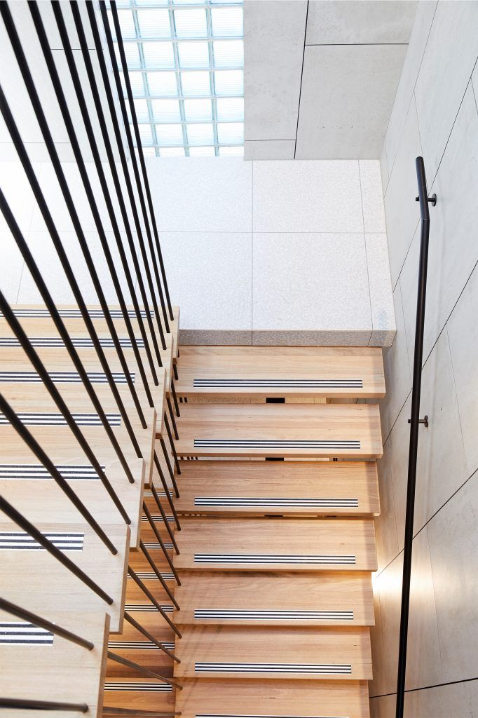 Pin by Noe Treves on Staircase Stairs, Steel balustrade