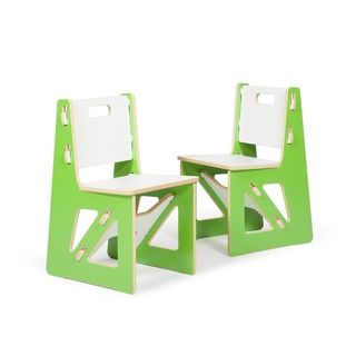 Sprout Kid's Chairs (Set of 2) - Overstock™ Shopping - The Best Prices on Sprout Kids' Chairs