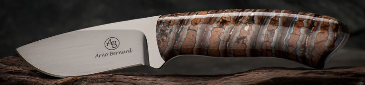 Art and functionality combine with gorgeous results via Arno Bernard Knives!