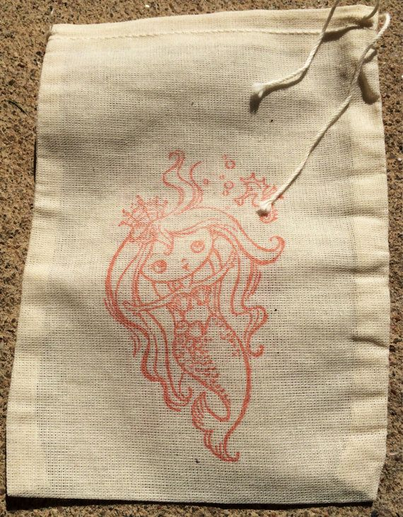Mermaid party favor bags candy buffet bags 1st by EverlongEvents