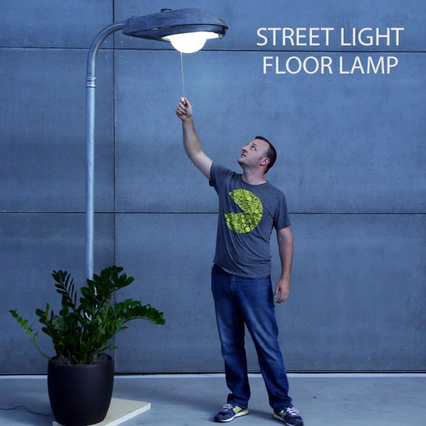 This industrial lighting solution is unique as it gets!