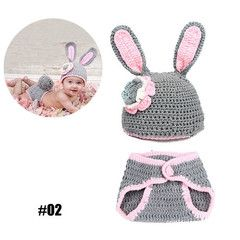 $29 for 2-Pack Crochet Baby Cocoon Photo Props | DrGrab