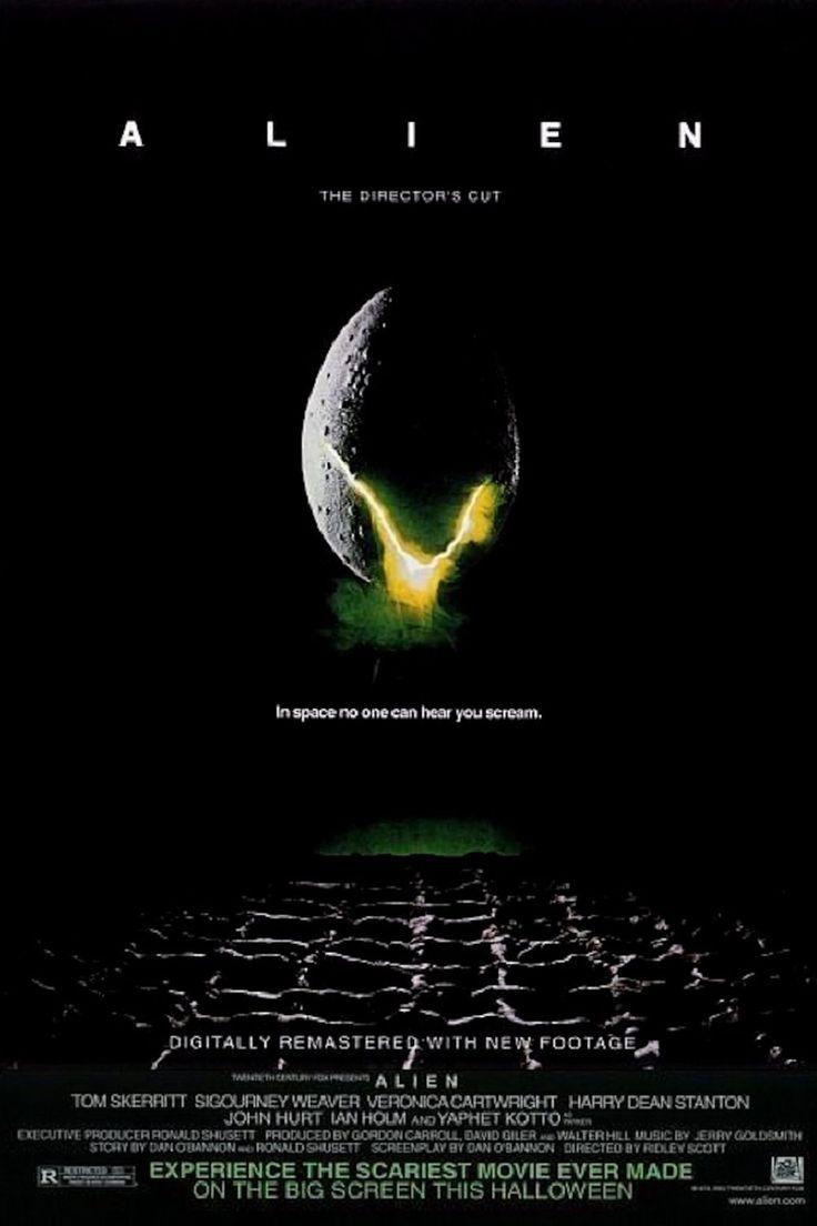 """Alien, le huitième passager """"Alien"""" [director's cut] (Ridley Scott) 1979"""