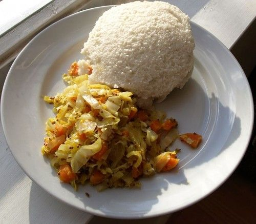 Pap and Cabbage, Namibia