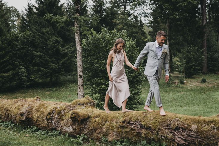 Style wedding for Ligavam.lv  Dare not to go white for bride's dress, colors that blend into the nature.