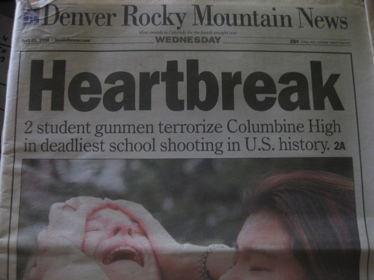 The Basement Tapes Columbine Part - 45: The Columbine Massacre, April 20, 1999, Colorado. I Was In College When