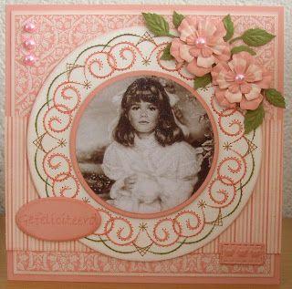 Ann and Nellie's Stitching Stencils: Cards with Stitching Dies