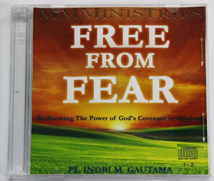 [Audio CD] Free from FEAR  #IndriGautama #Christian #Freedom #Fear