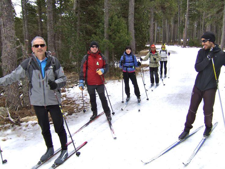 Cap de setmana de neu a Aransa, La Cerdanya amb Nordic Walking Girona