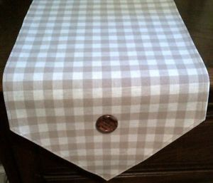 Soften up your table with this gingham table runner, made in Laura Ashley fabric http://www.pricerunner.co.uk/cl/461/Kitchen-Accessories?search=table%20runner