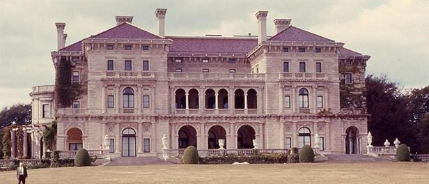 The Breakers, located in Newport, R.I., is one the grandest examples of Italianate architecture in the United States.