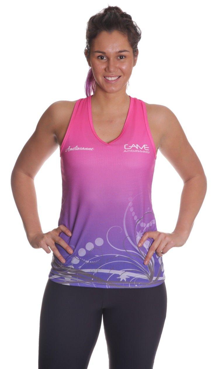 Sublimated Ladies Singlet | #SublimatedSinglets #SportsSinglets
