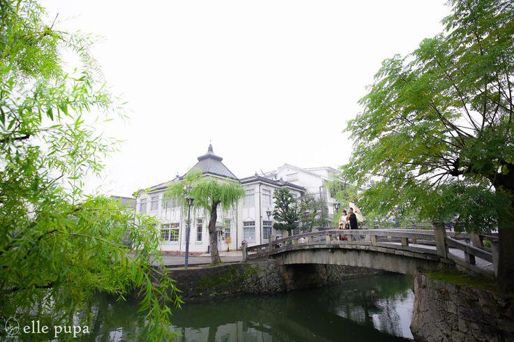 江戸時代から残る町並み*倉敷美観地区ロケーション撮影   *elle pupa blog*