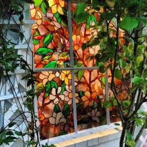 17 best images about fake glass windows on pinterest for Make your own stained glass window film