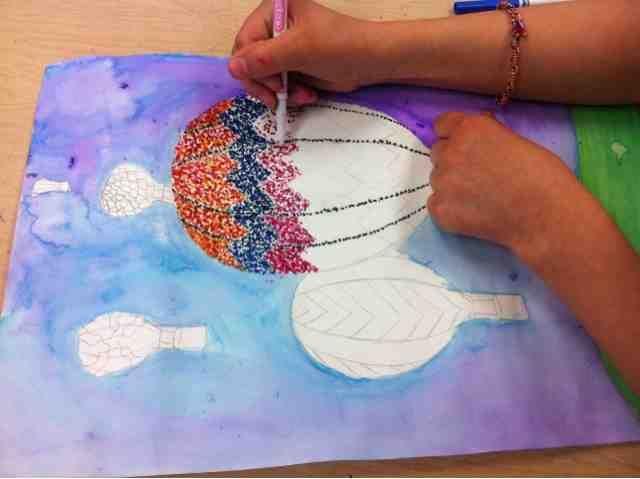 Tiny Hands Art: Pointillism Projects