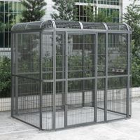 I'd love this big cage as a big (huge) playgym outside area from my pet birds.