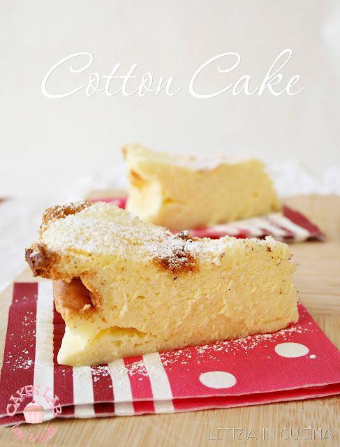 Letizia in Cucina: Cotton Cake - Cakes Lab